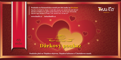 Gift voucher Romantic Massage for two